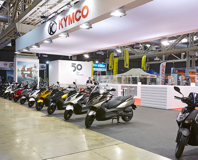 Stand Kymco | Sinergia Events