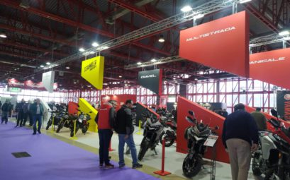 Sinergia Events | Diseño y montaje stand DUCATI